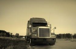 ciężarówka semi fotografia royalty free