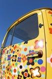 Ciężarówka, stara kolorowa ciężarówka. Obrazy Royalty Free