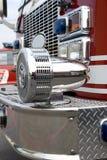 ciężarówka syreny przeciwpożarowe obrazy stock