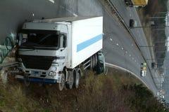 Ciężarówka trzask zdjęcie royalty free