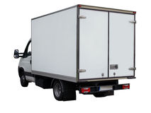 ciężarówka van Zdjęcia Stock