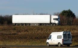 ciężarówka van zdjęcia royalty free