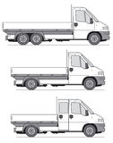 ciężarówka wektora ilustracja wektor