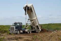 ciężarówka wysypisko fotografia stock