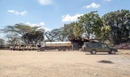 Ciężarówka z zbiornikiem wodnym Obraz Stock