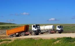 ciężarówki. Zdjęcie Stock