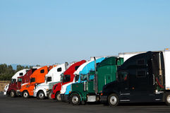 ciężarówki. fotografia stock