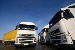 ciężarówki. Obraz Stock
