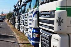 ciężarówki Obrazy Stock