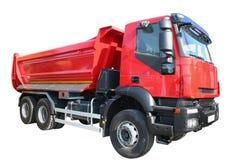 ciężarówki czerwień obrazy royalty free