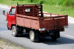 ciężarówki czerwony Obrazy Royalty Free