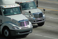 ciężarówki doręczeniowe Fotografia Stock
