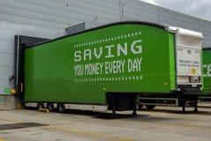 Ciężarówki przyczepa Zdjęcia Royalty Free