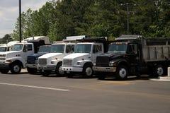 ciężarówki wysypisko Fotografia Stock
