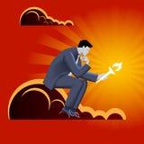 Ciężar przywódctwo biznesu pojęcie Obrazy Stock