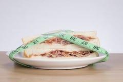 Ciężar strata i zdrowej diety pojęcie Zdjęcie Royalty Free