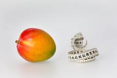 Mangowa i Pomiarowa taśma obraz stock