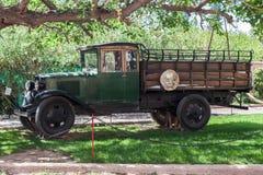 Ciężarowa wytwórnia win Mendoza Argentyna Zdjęcia Royalty Free