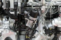 Ciężarowi silnika silnika składniki W samochód usługa Zdjęcie Royalty Free