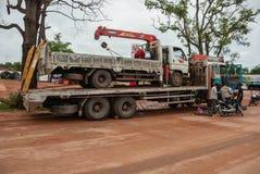 Ciężarowy Cambodia obrazy stock