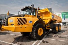 ciężarowy ciężarówki kolor żółty Fotografia Royalty Free