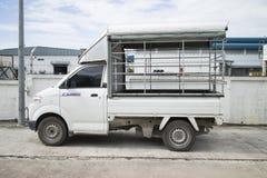 Ciężarowy engin w fabryce Fotografia Stock