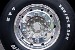 Ciężarowy koło Fotografia Royalty Free