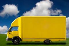 ciężarowy kolor żółty Fotografia Stock