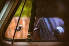 Ciężarowy okno i lustro Obrazy Royalty Free