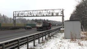 Ciężarowy opłata drogowa system zbiory