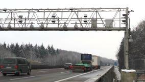 Ciężarowy opłata drogowa system zdjęcie wideo