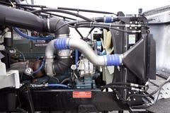 Ciężarowy silnik Zdjęcie Royalty Free
