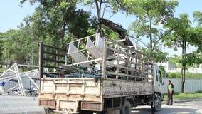Ciężarowy transport w produkci zbiory