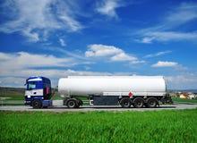 Ciężarowy zbiornik obrazy royalty free