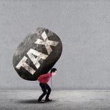 Ciężaru podatku pojęcie Zdjęcie Stock