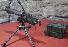 Ciężcy maszynowi pistolety obrazy stock
