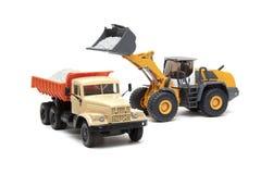 ciężka buldożer ciężarówka Fotografia Royalty Free