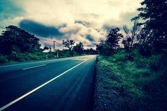 ciężka droga Fotografia Royalty Free
