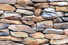ciężka kamienna ściana tło Obraz Stock