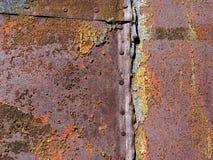 ciężka rdza Zdjęcie Stock