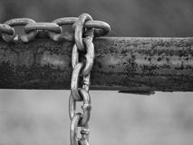 Ciężki łańcuch 1 Fotografia Stock