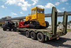 Ciężki gąsienicowy buldożer Fotografia Stock