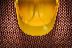 Ciężki kapelusz na dielektryczny gumowy matować Obraz Stock