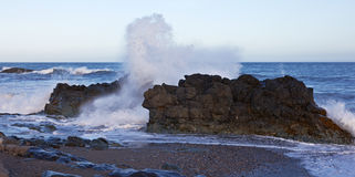 ciężki morze Fotografia Royalty Free