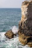 Ciężki morze Zdjęcia Royalty Free