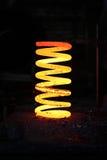 ciężki płonący żelazo niektóre skakać wehical Obraz Royalty Free