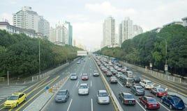 ciężki ruch drogowy obraz royalty free