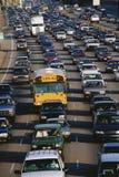 Ciężki ruch drogowy zdjęcia royalty free