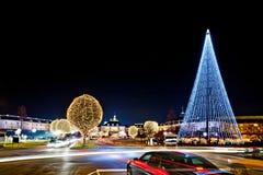 Ciężki ruch drogowy Podczas sezonu wakacyjnego Fotografia Stock