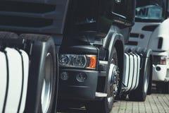Ciężki transportu konwój obrazy royalty free